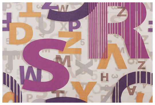 Lingvo Purple. Canvas.