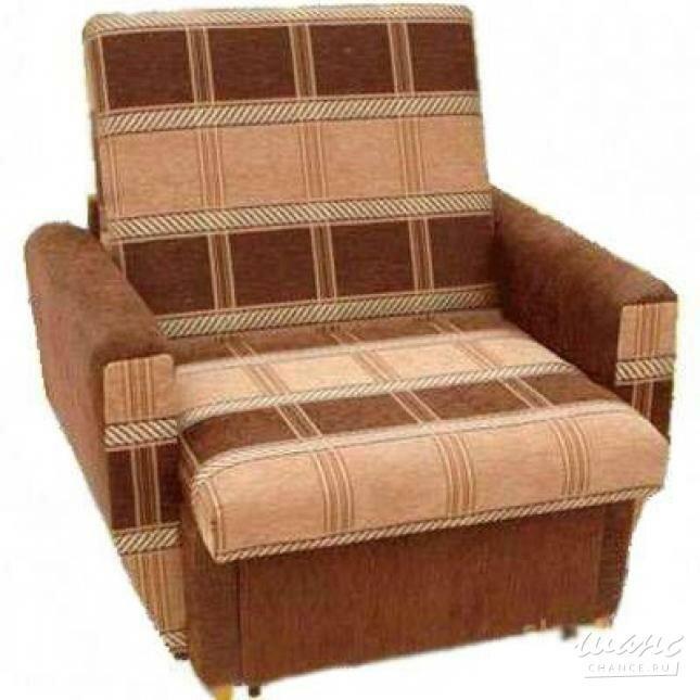 """Кресло - кровать """"Эконом"""" коричневый"""