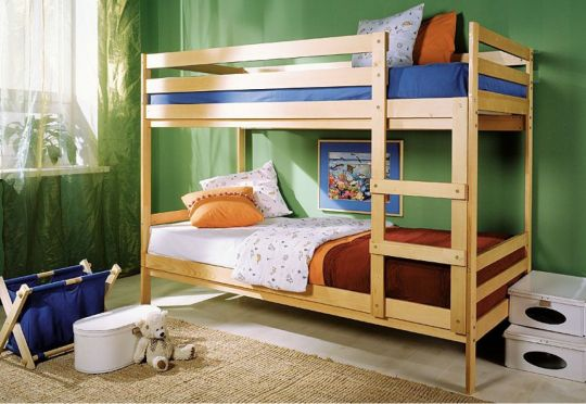 """Детская двухъярусная кровать """"Массив"""" (трансформер)"""