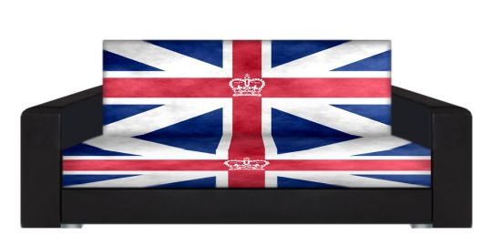 "Диван-книжка фото-принт ""Британский флаг 9"""